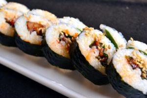 ヒルナンデス キンパ(韓国風海苔巻き)レシピ。お弁当にもOK!