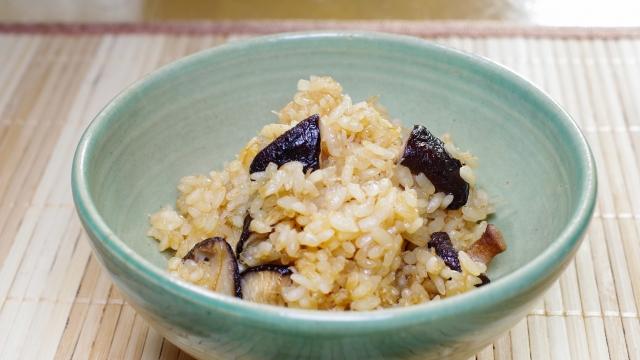 おこわ風炊き込みご飯の作り方。世界一受けたい授業のレシピ。