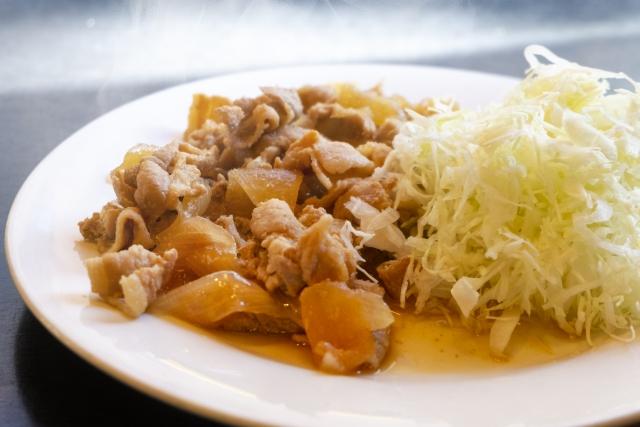教えてもらう前と後 豚の生姜焼き レシピ 画像