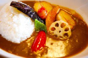 夏野菜のっけカレー レシピ。インスタ映えする料理。