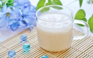 甘酒の冷たいアレンジ レシピ。暑い夏におすすめの飲み方。
