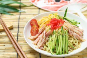 冷やし中華の錦糸卵&タレの作り方。市販 付属タレのアレンジレシピ。
