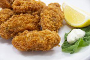 カキフライ風きゅうりのレシピ。きゅうり+塩昆布で「牡蠣」に。