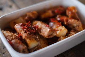 みょうがの肉巻き レシピ。メインのおかずやおつまみにも。