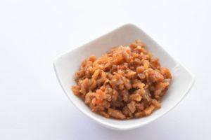 梅そぼろみそ&チャーハンのレシピ。梅干し入りで夏にピッタリ。