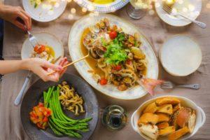 鯛・たらで作るアクアパッツァ レシピ。電子レンジで簡単。