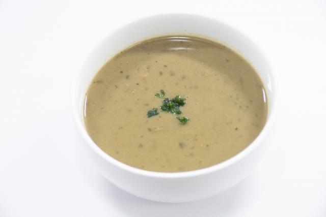 ゴボウの冷製ポタージュ風みそ汁 レシピ。長生きみそ汁 夏の新作。