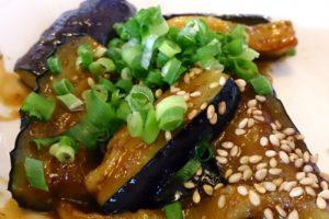 米なすのみそ炒め&ソテーの作り方。米なすの簡単レシピ。