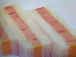 ハムとチーズのサンドイッチレシピ。世界一受けたい授業で紹介。