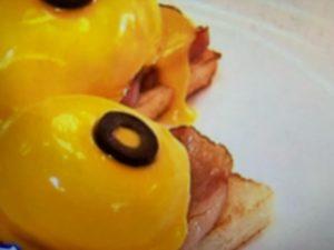 エッグベネディクト風サンドイッチのレシピ。世界一受けたい授業で紹介。