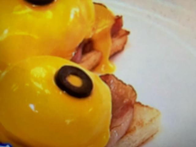 世界一受けたい授業 エッグベネディクト風サンドイッチ レシピ 画像