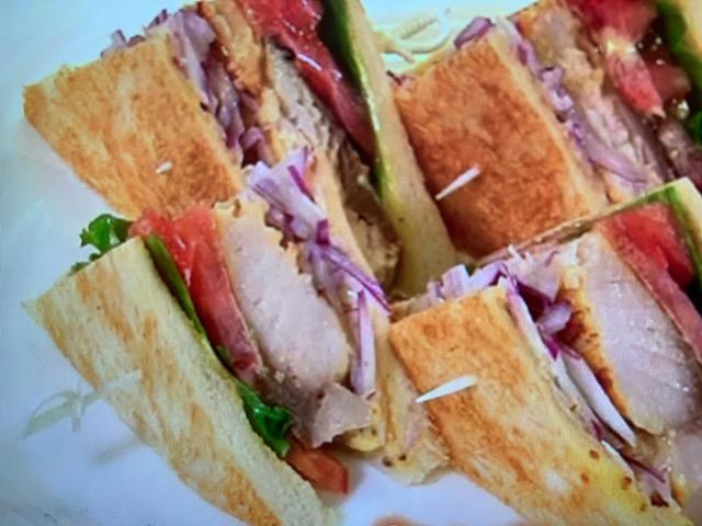 世界一受けたい授業 サバの塩焼きサンドイッチ レシピ 画像