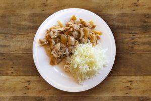 豚のめんつゆ生姜焼き レシピ。めんつゆで簡単に作れる。