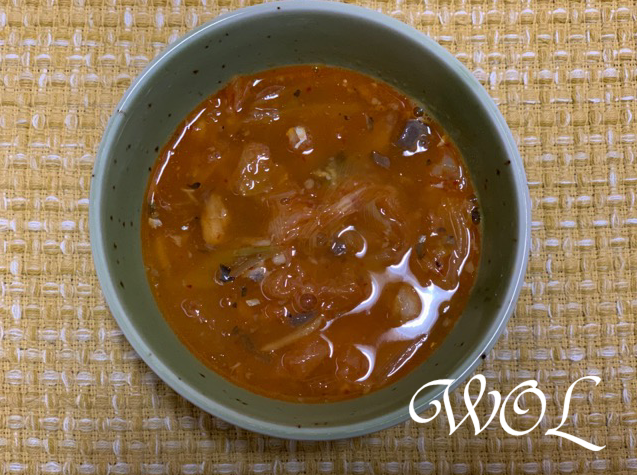さば缶とキムチの韓国風スープ レシピ。ATSUSHIの魔法の美腸スープ。