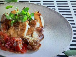 【あさイチ】鶏もも肉のパリパリソテー。秋元さくらシェフのレシピ。