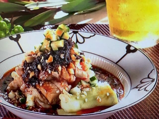 あさイチ 特製ラー油のよだれ鶏 レシピ 画像