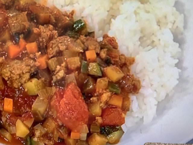 あさイチ まかないチャイナカレー レシピ 画像