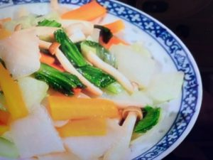 【ヒルナンデス】氷こんにゃくイカと野菜の中華風炒めのレシピ
