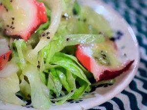 家政婦のマコ タコのサラダ レシピ 画像