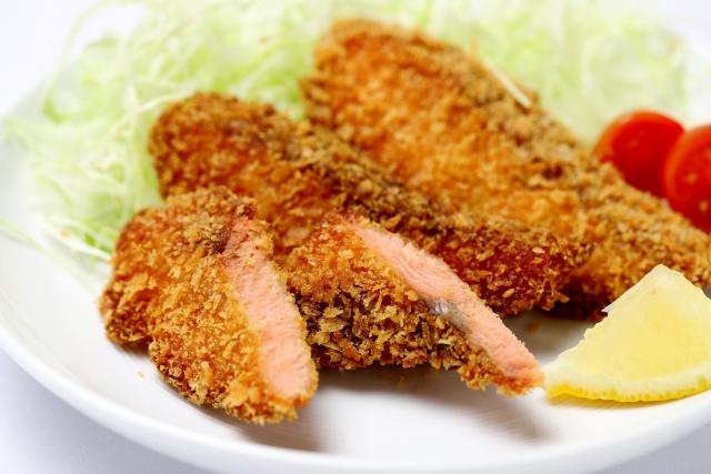 男子ごはん 鮭フライ レシピ 画像