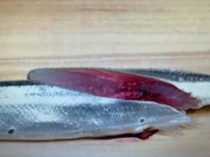 サンマの切り方 画像