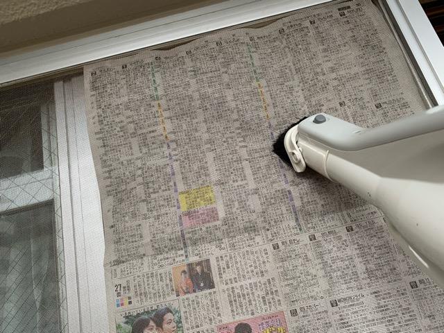 網戸 掃除機 画像