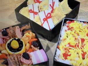 業務田スー子さんのお正月レシピ。するめ・おせち・お餅など。