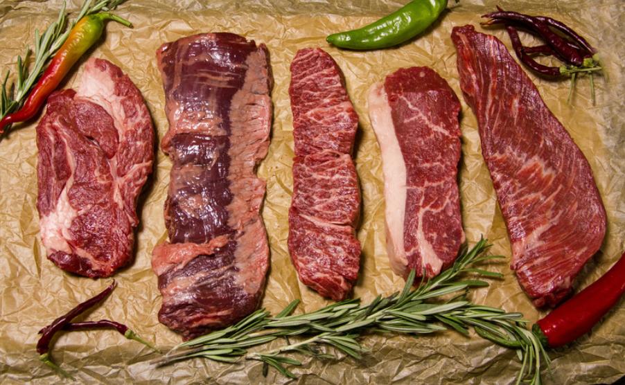 ステーキ肉 冷凍保存 画像