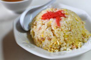 【ヒルナンデス】かに炒飯。業務田スー子さんのレシピ。