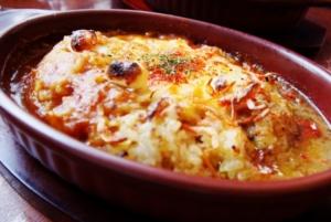 IKKOさんのポテトサラダの焼きカレー レシピ。家事ヤロウ。