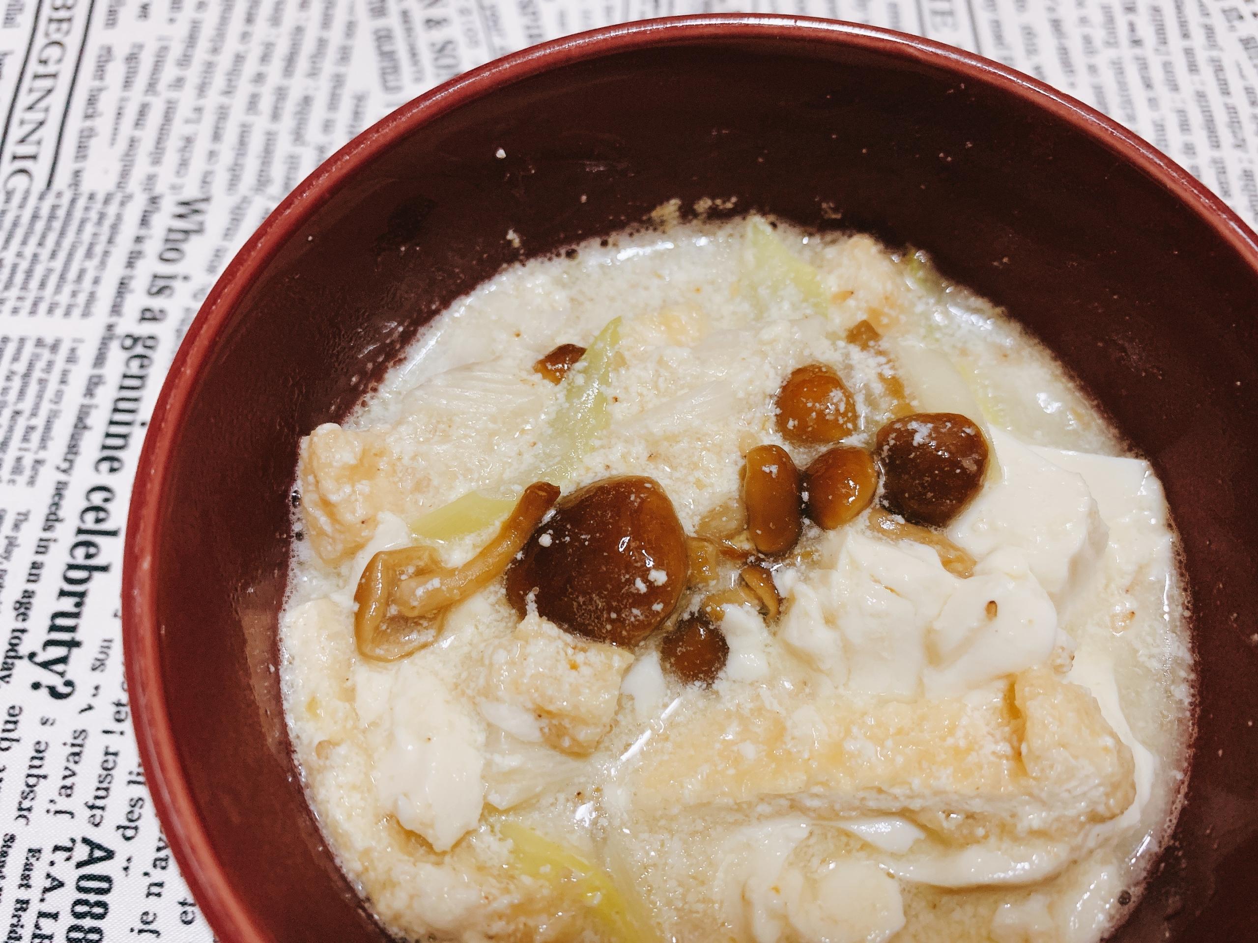 美 調 スープ 豆乳