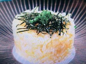 焼き卵かけご飯。グランメゾン・キングのレシピ。