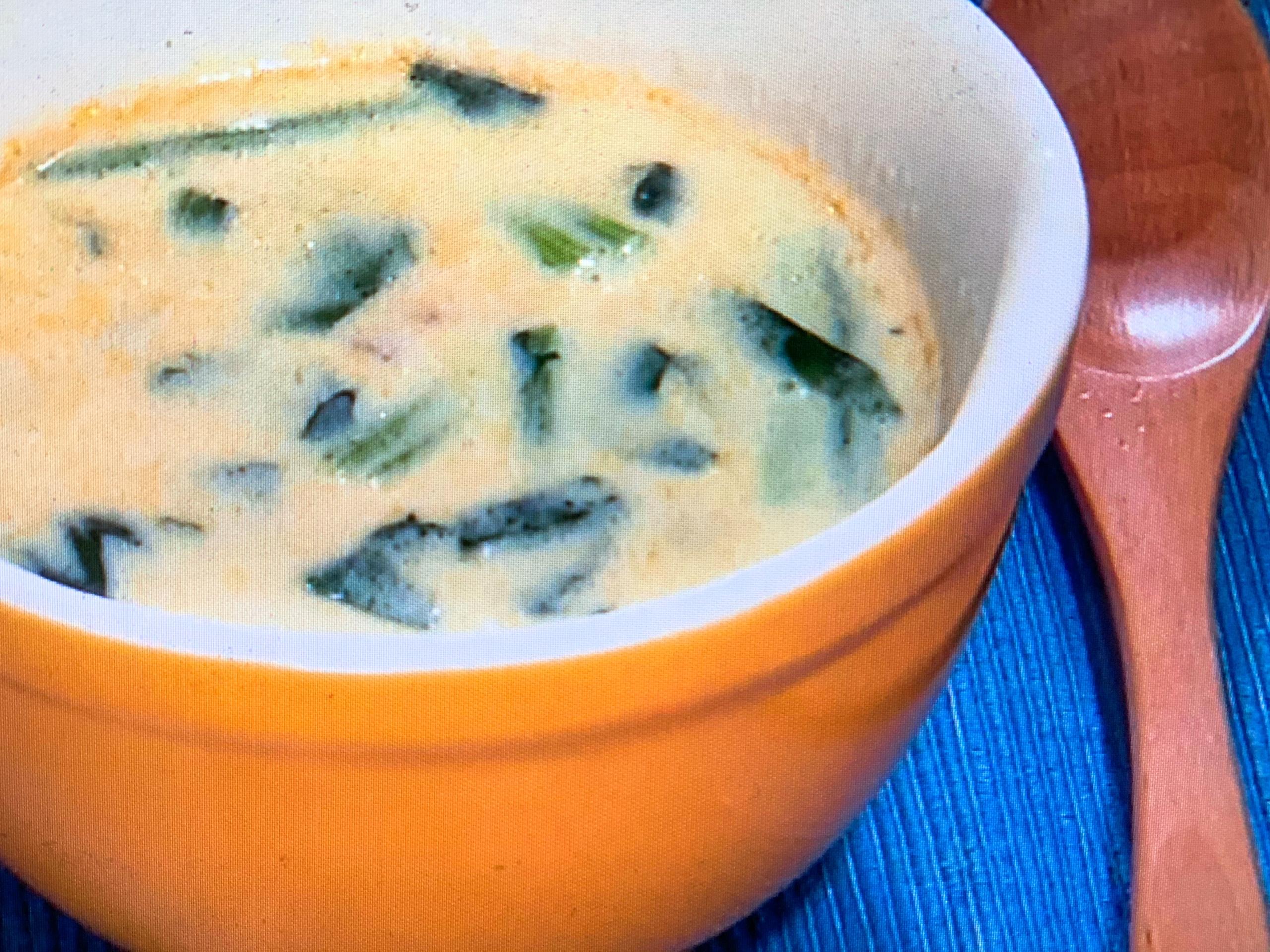 あさイチ パスタソース レシピ スープ 画像