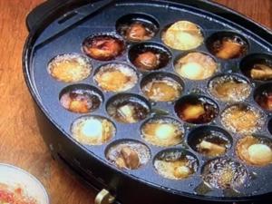 【男子ごはん】韓国風アヒージョ。たこ焼き器のアレンジレシピ。