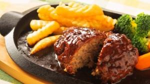 【あさイチ】ハンバーグ 肉汁閉じ込める方法&焼き方