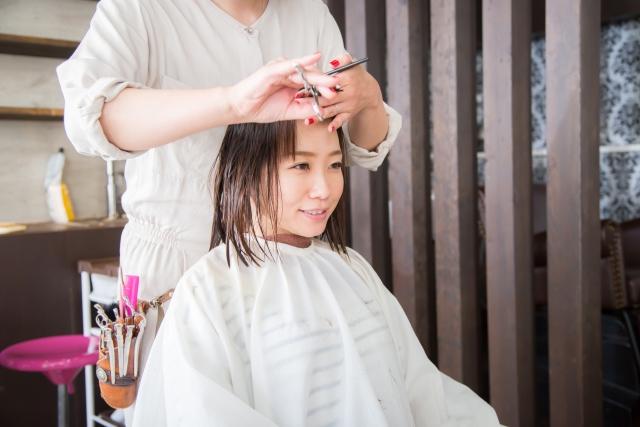 前髪 切り方 画像