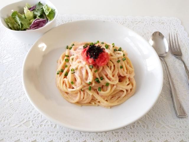 家事ヤロウ 明太クリームパスタ レシピ 画像