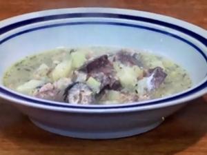 【あさいち】ポテさばスープ。きじまりゅうたさんのレシピ。