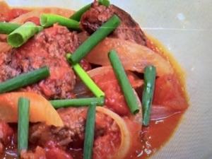 【あさイチ】ひき肉のバターしょうゆトマト煮。脇雅世さんのレシピ。