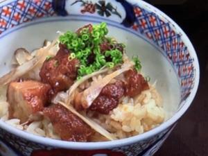 【あさイチ】冷凍唐揚げの甘辛おこわ。唐揚げのアレンジレシピ。