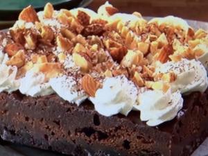 【土曜はナニする!?】ザクザク濃厚ショコラケーキ。山本ゆりさんのレシピ。
