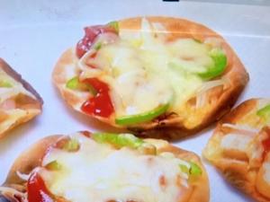 【男子ごはん】餃子の皮ピザ。餃子の皮が余ったときのアレンジレシピ。